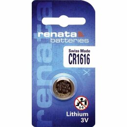 Дизайн, изготовление и реставрация товаров - Батарейки Renata  CR1616-1BL, 0