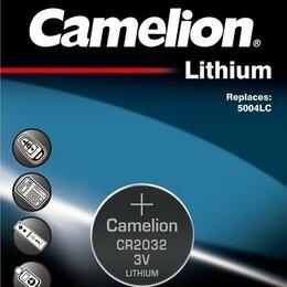 Батарейки - Батарейка Camelion CR2032, 0