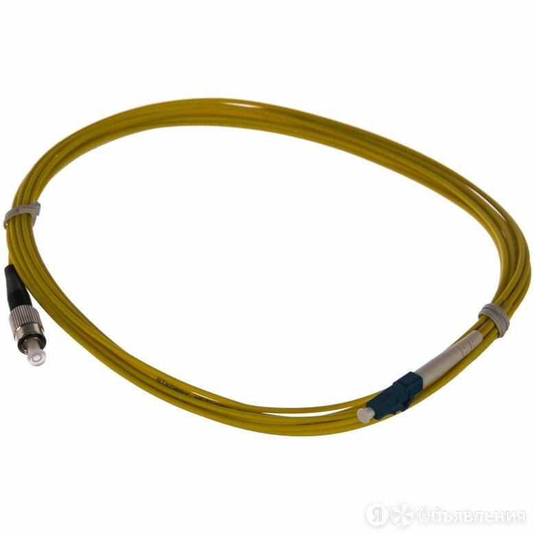 Переходной волоконно-оптический шнур NIKOMAX NMF-PC1S2C2-FCU-LCU-005 по цене 198₽ - Товары для электромонтажа, фото 0