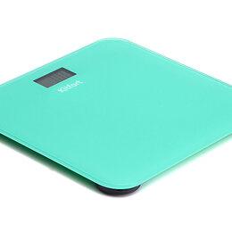 Напольные весы - Напольные весы KITFORT КТ-804-1, зелёные , 0