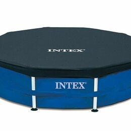 Тенты и подстилки - Тент для каркасных бассейнов 305 см, Intex, арт. 28030, 0