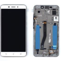 Дисплеи и тачскрины - Дисплей для Asus ZenFone 3 Laser ZC551KL белый с…, 0