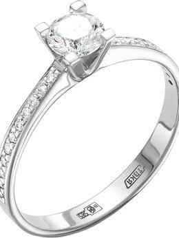 Кольца и перстни - Помолвочное кольцо Vesna jewelry 1572-251-00-00_17, 0