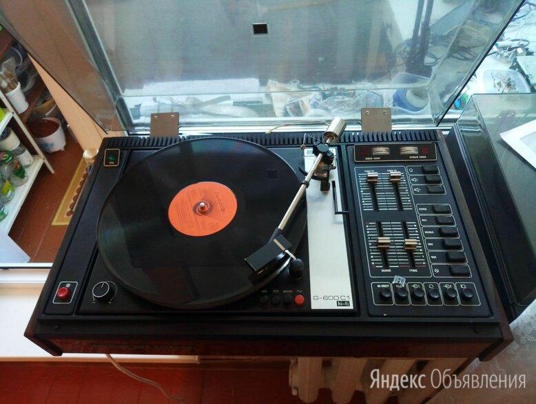 Проигрыватель винила Арктур-003 с ЭПУ G-600 C1. по цене 10000₽ - Проигрыватели виниловых дисков, фото 0