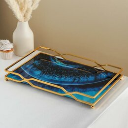 Подставки и держатели - Подставка для десертов 'Нептун', 43x29,5x6 см, 0
