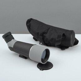 Бинокли и зрительные трубы - Телескоп настольный 20 кратного увеличения, серо-черный корпус, 0