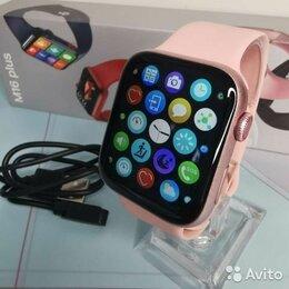 Умные часы и браслеты - Smart watch 6 (M16 plus) розовые, 0