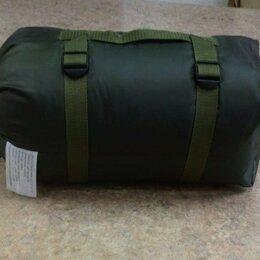 Спальные мешки - Спальный мешок синтепон 2-х слойный 220х90 см олива, 0