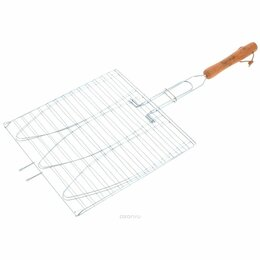 """Решетки - Решетка-гриль для рыбы 3 секции 28х28cm """"ROYALGRILL"""" (80-019), 0"""