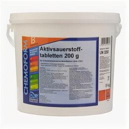 Дезинфицирующие средства - Chemoform Аквабланк О2 в таблетках (200 г), активный кислород для дезинфекции..., 0