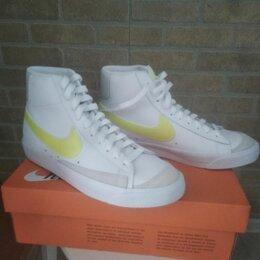 Кроссовки и кеды - Nike blazer mid vintage '77 желтые, 0