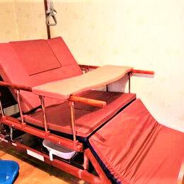 Устройства, приборы и аксессуары для здоровья - Медицинская кровать для лежачих больных ручн набок, 0