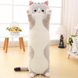 Мягкие игрушки - Мягкая игрушка Длинный кот подушка, 0