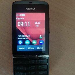 Мобильные телефоны - Nokia полусенсорный asha 300, 0