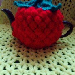 Сувениры - Вязаная грелка на заварочный чайник , 0