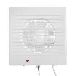 Насосы и комплектующие - Вентилятор вытяжной ZEIN LOF-03, москитная сетка, шнурковый выключатель, d100..., 0