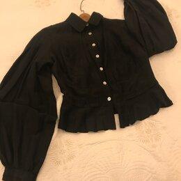 Блузки и кофточки - Шелковая блузка Zimaletto, 0
