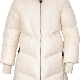 Пальто - Куртка женская Didriksons ANDREA WNS PUFF PARKA, белое облако, 503880 (Размер:, 0