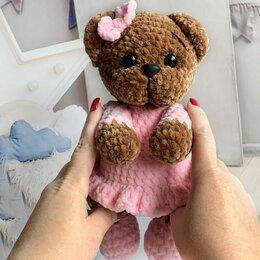 Мягкие игрушки - Плюшевый медведь амигуруми крючком, 0