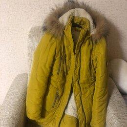 Комплекты верхней одежды - Куртка зимняя для девочки , 0