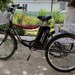 Велосипеды - Продам электровелосипед 3-х колёсный, 0