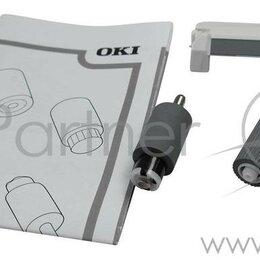 Принадлежности и запчасти для станков - Набор роликов подачи и тормозной площадки обходного лотка  лоток 1  Oki C911/..., 0