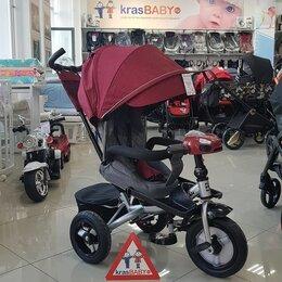 Трехколесные велосипеды - Велосипед Baby Tilly трехколесный CAYMAN T-381 с поворотным сидением и наклон..., 0