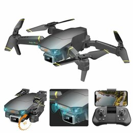 Квадрокоптеры - Квадрокоптер (дрон) Global Drone gd89 с камерой WI-Fi FPV, 0