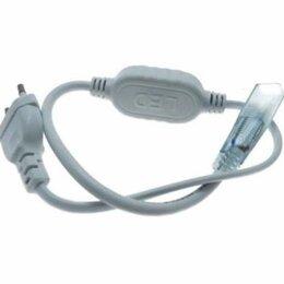 Леска и шнуры - Шнур сетевой для светодиод. ленты MVS-2835 JazzWay 5004320, 0