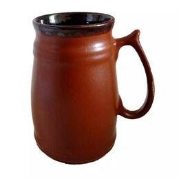 Бокалы и стаканы - Бокал Бочка коричневый Beer золото 1/41 ПТУ-0104, 0