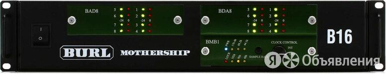Burl Audio B16-BMB1-8x8 / B16-BAD8 / B16-BDA8 по цене 496800₽ - Запчасти к аудио- и видеотехнике, фото 0
