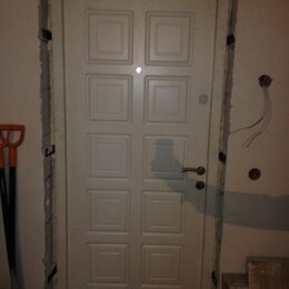 Входные двери - Двери входные б/у, сток, новые металлические, 0