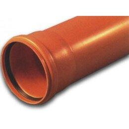 Канализационные трубы и фитинги - Труба НПВХ кан. раструбная 250-6,2-6130 кирп., 0