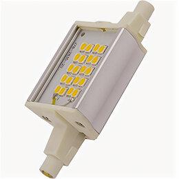 Лампочки - Светодиодные лампы Ecola Лампа светодиодная линейная F78 6Вт 4200К 510Лм R7s ..., 0