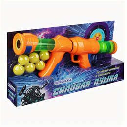 Игрушечное оружие и бластеры - Ружье + 10 мягких шариков, 0