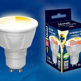 Лампочки - Лампа светодиодная Uniel  GU10 6Вт 3000 KK UL-00001664, 0