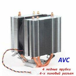 Кулеры и системы охлаждения - Кулер для 2011 башня 4 медные трубки 4pin - новый, 0