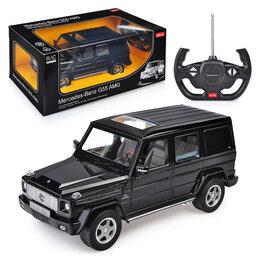 Радиоуправляемые игрушки - Машинка на радиоуправлении Гелик AMG-55 черный Mer, 0