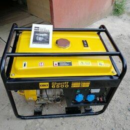 Электрогенераторы и станции - Продам Бензиновый генератор Sheriff 6500, 0