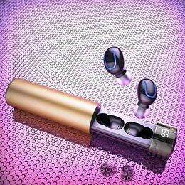 Наушники и Bluetooth-гарнитуры - Наушники беспроводные HBQ-Q67 TWS Gold, 0