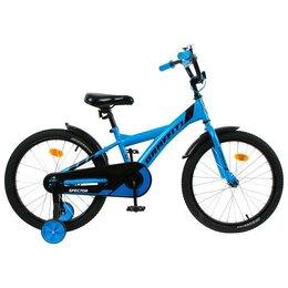 """Велосипеды - Велосипед 18"""" Graffiti Spector, цвет неоновый синий   5267484, 0"""