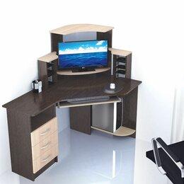 Компьютерные и письменные столы - Компьютерный стол Грета-7 текс, 0