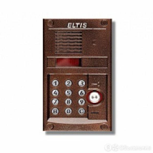 Панель вызова ELTIS DP305-TDC22 по цене 8800₽ - Домофоны, фото 0