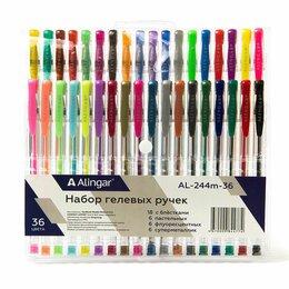Письменные и чертежные принадлежности - Набор гелевых ручек (18 с блестками, 6 пастельных, 6 флуоресцентных, 6 супермета, 0