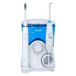 Ирригаторы - Ирригатор полости рта и электрическая зубная щетка Nicefeel FC-163, 0