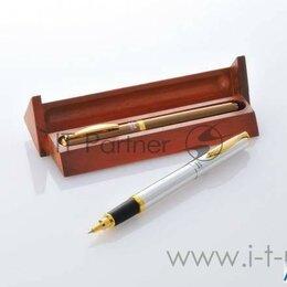 Письменные и чертежные принадлежности - Ручка керамическая Kyocera, Ceramic Ball-point Pen Kb-20wnsl Silver In Wooden..., 0