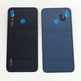Дисплеи и тачскрины - Задняя крышка для Huawei P20 Lite черная, 0