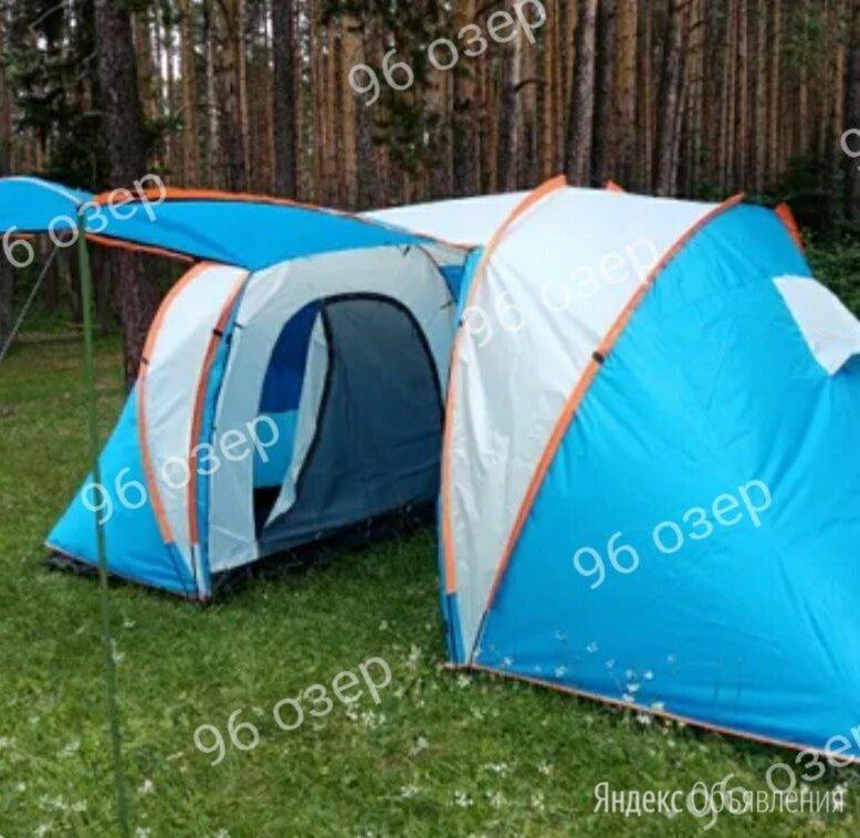 Палатка 4 местная 2 комнаты по цене 7500₽ - Палатки, фото 0
