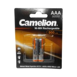 Аксессуары и запчасти для оргтехники - Аккумулятор Camelion AAA- 900mAh Ni-Mh BL-2 (NH-AA, 0