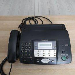 Факсы - Телефон-факс panasonic kx-ft912ru, 0